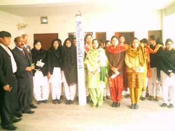 Pakistan Peace Pole Dedication-January 26, 2008