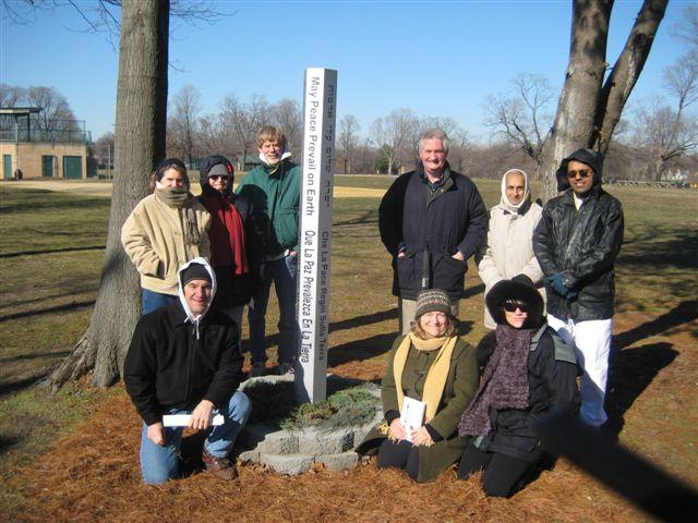 Riverton Community Peace Pole Project-January 11, 2008