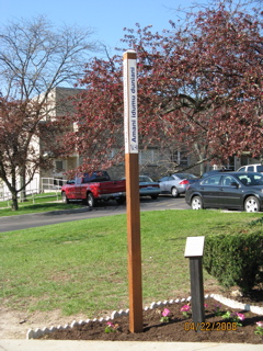St. Charles Borromeo Church Peace Pole-April 22, 2008