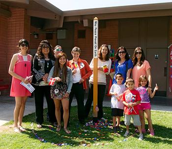 Peace-Pole-Dedication-at-Burchfield-Primary-School-Colusa,-California-USA_02