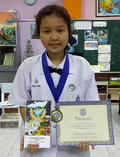 Pattariya Kanson - 15 years old - Finalist
