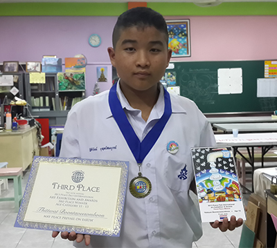 Thittwat Boontaveesomboon - 12 Years Old - Third Place Winner