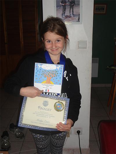 Maïlys Zintz age 9 from France - Finalist