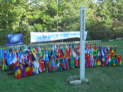 WPFC-and-Peace-Pole-planting--Ananda-Community-Assisi-ITALY-02