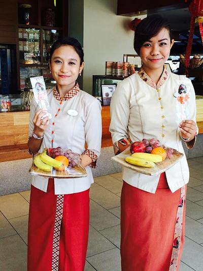 Peace Dolls - Kuantan Hyatt Regency Staff - Malaysia