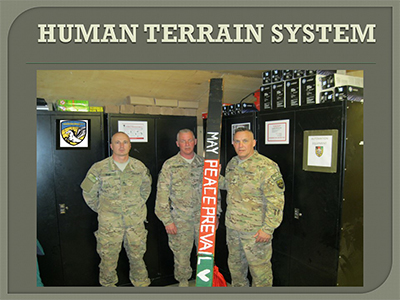 Peace pole safekeeping at Bagram military base