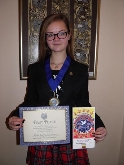 Neda-Varpukauskaita-Lithuania-1st-place