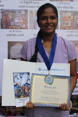 Shraddha Berde - Age 15 - Finalist