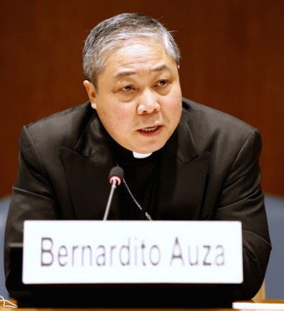 Archbishop Bernardito Auza, Permanent Observer of the Holy See to the United Nations