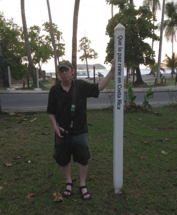 CostaRica.Quepos.Peace Pole Sighting