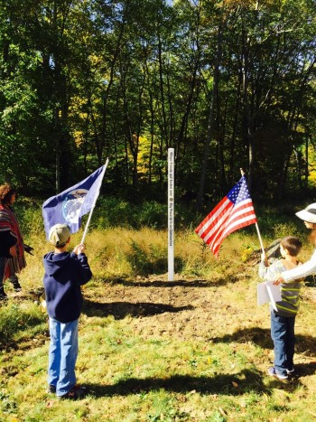 Lucky Orphans WPFC with Earth Flag oct 2015