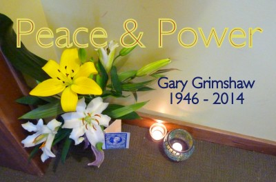 GMG Peace & Power Hall Memorial w text