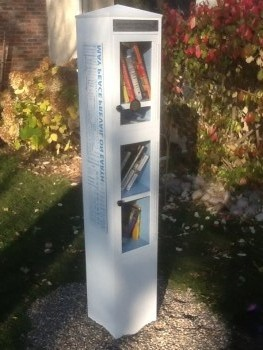 Peace Pole Little Free Library 2