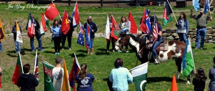 LOHRF Horse and Flags 2