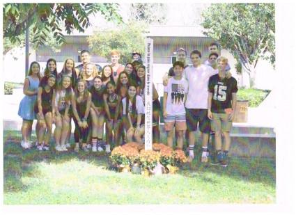 students peace pole