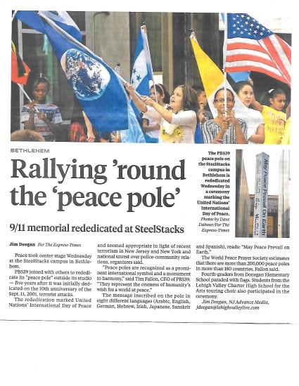 idp-peace-pole-rededication-9-21-16