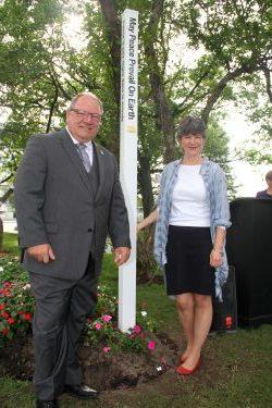 Mayor Bigger & Councillor McIntosh