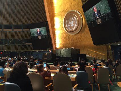 Secretary-General Photo by D. Moldow
