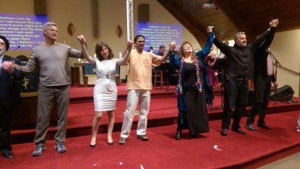 Faith Leaders, Dilpreet Jammu (Sikh), John Adams (Yoga), Jonnette Crowley ( Universalist), Sriram Ganesh (Hindu), Julie Labato (New Age), Len Silverston (Buddhist), Rob White (Christian)