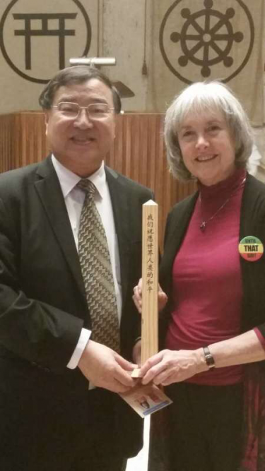 Tom W. Q. Jiang, co-chairman of the Global Peace Messengers Alliance, a Chinese peace NGO