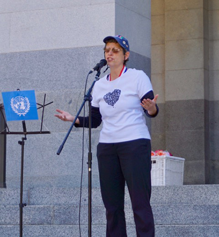International Day of Peace at the Sacramento State Capitol – USA