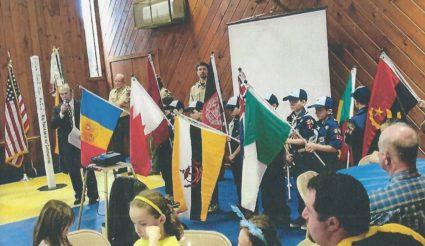 Cub Scout World Peace Flag Ceremony, LaGrangeville, NY-USA