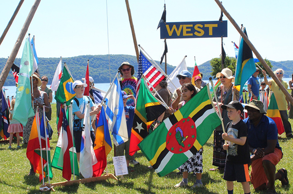 World Peace and Clearwater's Great Hudson River Revival 2018