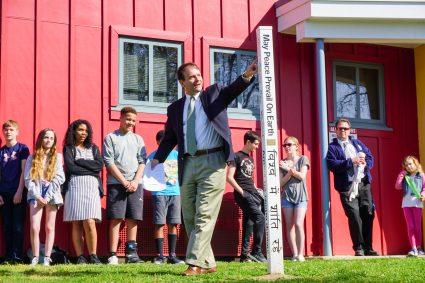 Peace Pole Registration- Friends School Mullica Hill, New Jersey-USA