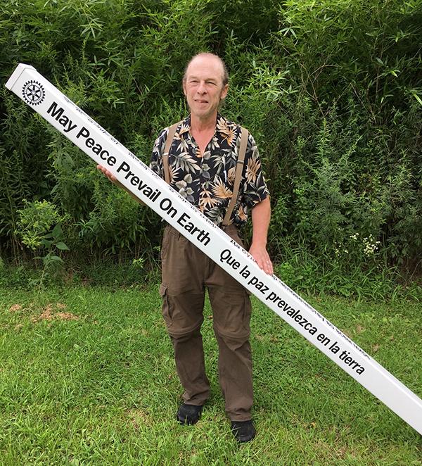 How 2,500 Peace Poles Equals 25,000 Trees – World Peace Sanctuary – New York – USA
