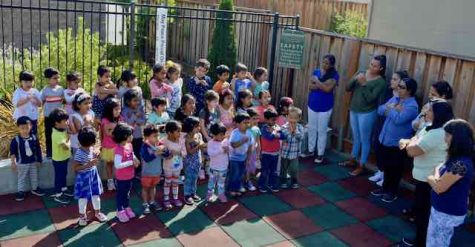 Evergreen Montessori Reminds us to live in Peace, San Jose, CA
