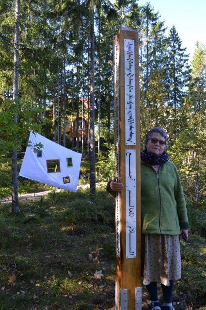 IDP Peace Pole Planting Undrumsdal/Tønsberg/ Norway