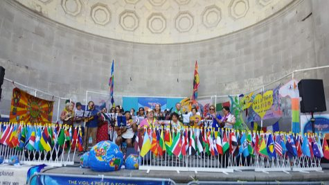The Vigil for Peace & Ecology celebrated their 17th anniversary, at Central Park NYC