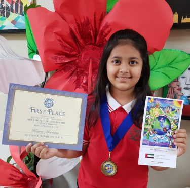 Peace Pals International Winner 2017 and 2018, Dubai, UAE