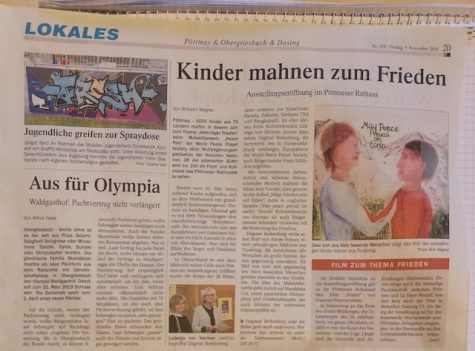 Peace Pals Exhibit Pöttmes, Germany