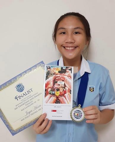 Peace Pals Prize Finalist is all smiles, Philippines