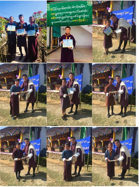 Students of Jigme ECCD center 2018