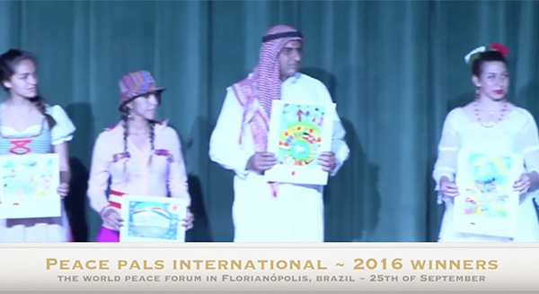 Peace Pals International 2016 Winners – Florianópolis, Brazil