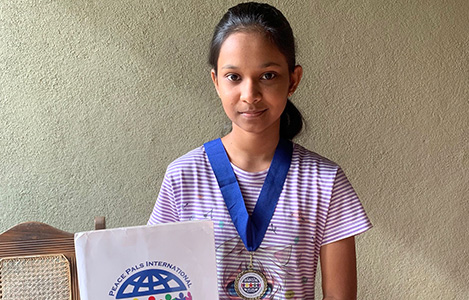 2018 Peace Pals Finalist, Sri Lanka