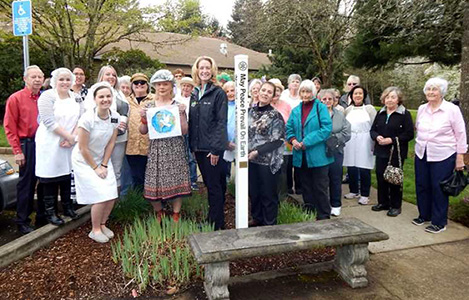 "2018 ""Seeds of Peace""- Nearly 200 Peace Poles planted in Oregon & Washington – USA"