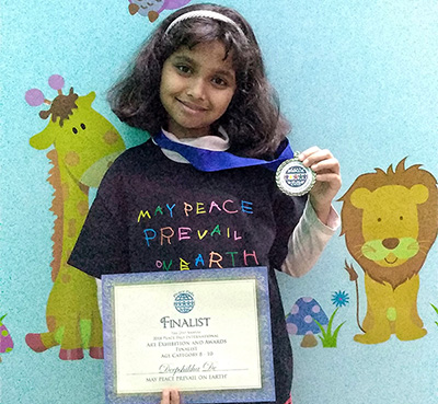 Deepshikha, Peace Pals International Finalist from India