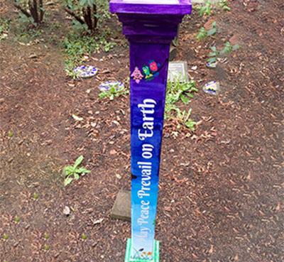 Creatively Spreading Peace at Edmonds Elementary, Edmonds, WA