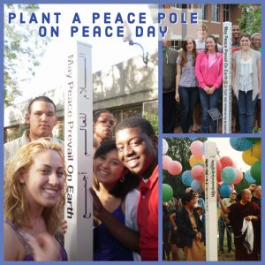 plant a peace pole 2019 idp