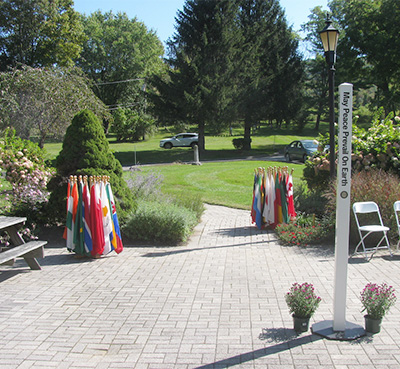 Flag Ceremony on the International Day of Peace at the World Peace Sanctuary Saturday, September 21, 2019