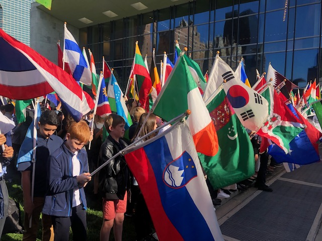 Annual Student Observation of International Day of Peace at United Nations. New York, NY