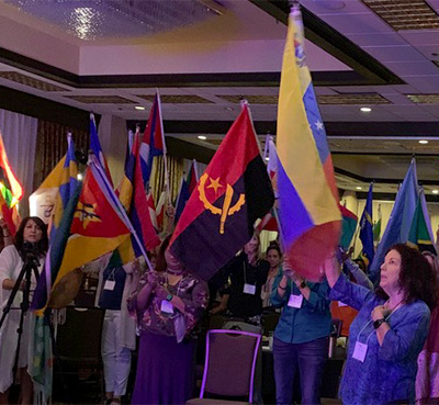 Visionary Summit Flag Ceremony on Peace Day Sacramento, California September 21, 2019