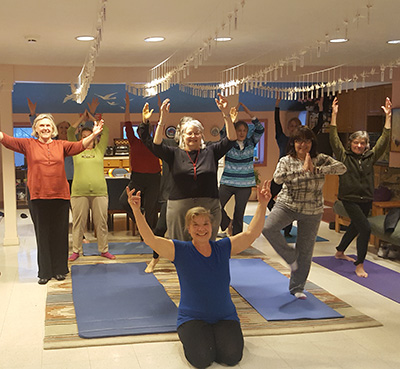 Yoga For Peace at The World Peace Sanctuary Wassaic, NY