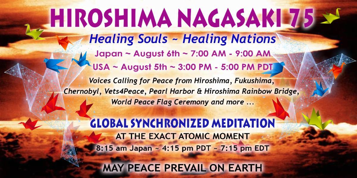 Hiroshima Nagasaki 75th 2020