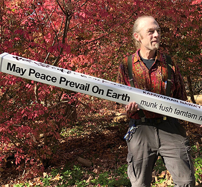 3,500 Classic Peace Poles is Equivalent to 35,000 Trees Planted on Continent of Africa.